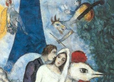 Emejing Marc Chagall La Mariee Gallery - Joshkrajcik.us ...